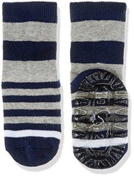 "Sterntaler – Baby Jungen Socken ""Ringel"" – blau/grau"