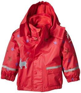 Sterntaler – Baby Mädchen Regenjacke – rot
