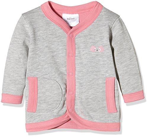 Twins – Baby Mädchen Jacke – grau/rosé