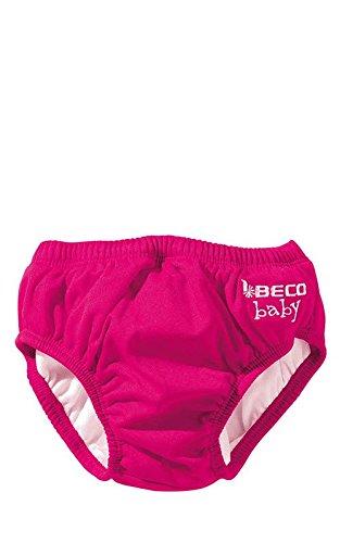 Beco – Baby Mädchen Badebekleidung Bade Slip – rot -