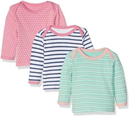 Care – Baby Mädchen Langarmshirts – mehrfarbig, 3er Pack -