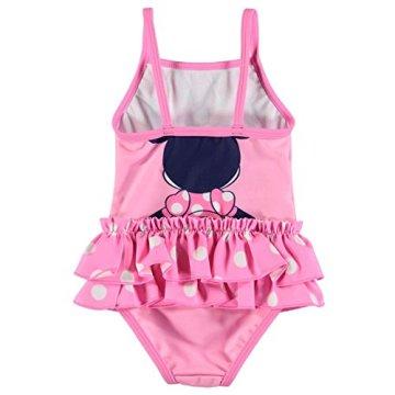 """Character – Baby Mädchen Badeanzug Badebekleidung Schwimmanzug """" Disney Minnie"""" – rosa -"""