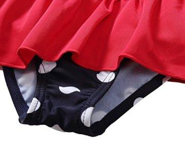 CharmLeaks – Baby Mädchen Badebekleidung Badeanzug – dunkelblau/Punkte -