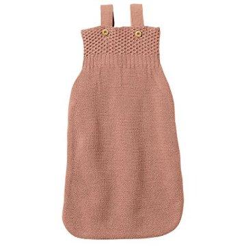 Disana – Baby Schlafsack aus Bio-Merinoschurwolle – rosé -