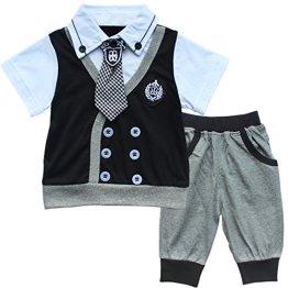 Schwarze Babykleidung