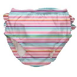 iplay – Baby Mädchen Badebekleidung Bade Windel mit UV-Schutz – mehrfarbig