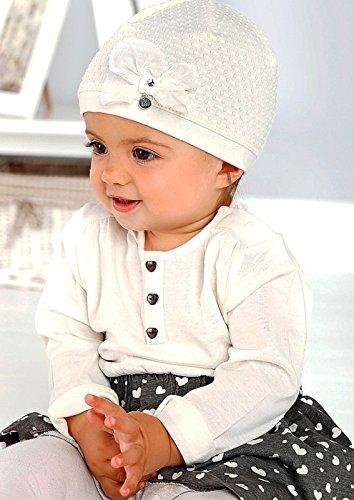 Marika Baby Mädchen Mütze Vanille Weiß Coole Babykleidungcom