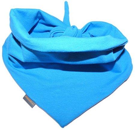 Mauala – Baby Halstuch doppelseiting – blau -