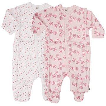 Pippi – Baby Mädchen Schlafstrampler – pink -