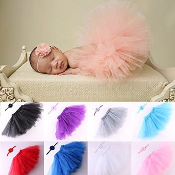 puseky – Baby Mädchen Rock – rosa, Einheitsgröße -
