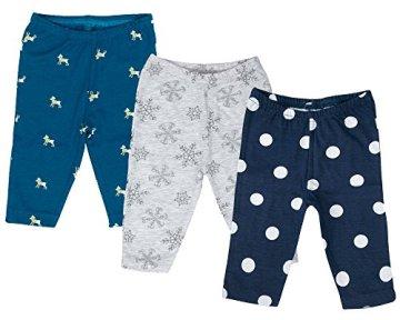 Sofie & Sam – Baby Jungen Schlafanzug Hosen Pajama – mehrfarbig, 3er Pack -