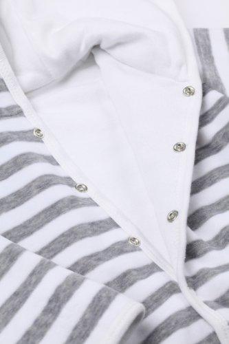 Steiff – Baby Jungen Jacke – weiß/grau -