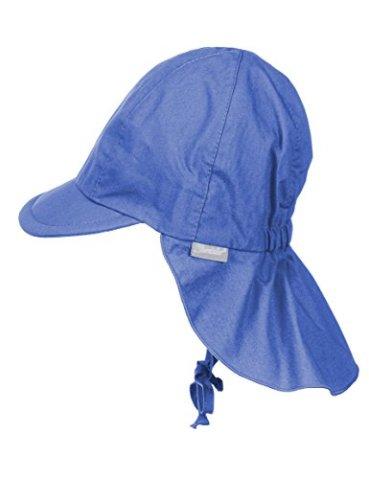 Sterntaler - Baby Jungen Schirmmütze m. Nackenschutz - blau - coole ... 55d149dda0b