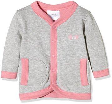 Twins – Baby Mädchen Jacke – grau/rosé -