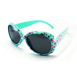 Mola Mola – Sonnenbrille – grün mit Blumenmuster