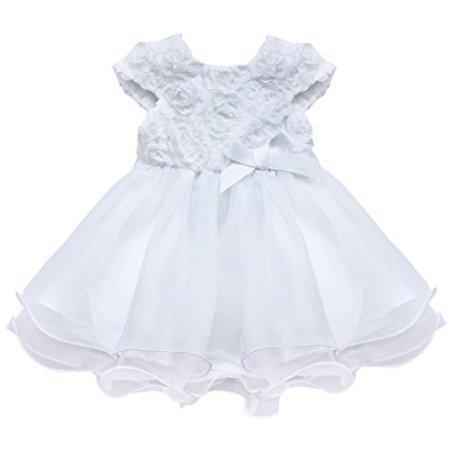 Tiaboug – Festliches Kleid – weiß