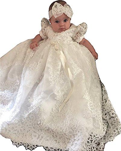 dressvip – Säuglings/-Kleinkindkleid – weiß