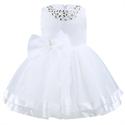 info for f8b0f bc0c9 iEFiEL – Festliches Kleid – weiß