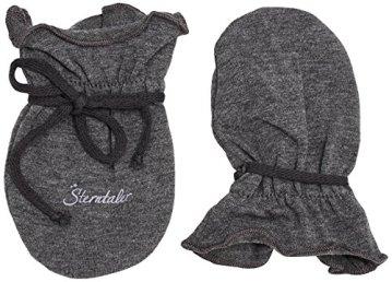 Sterntaler – Baby Fäustlinge grau -