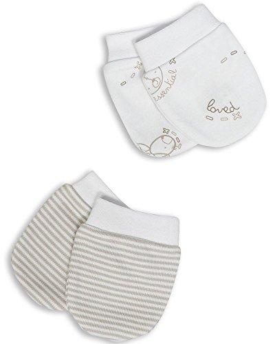 The Essential One – Baby Kratzhandschuhe – 2 Paar -
