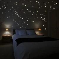 Leuchtsterne für Sternenhimmel Decke - fluoreszierende Sterne