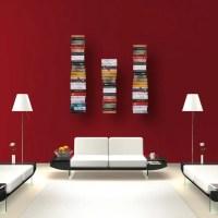 Unsichtbares Bücherregal - schwebende Bücher