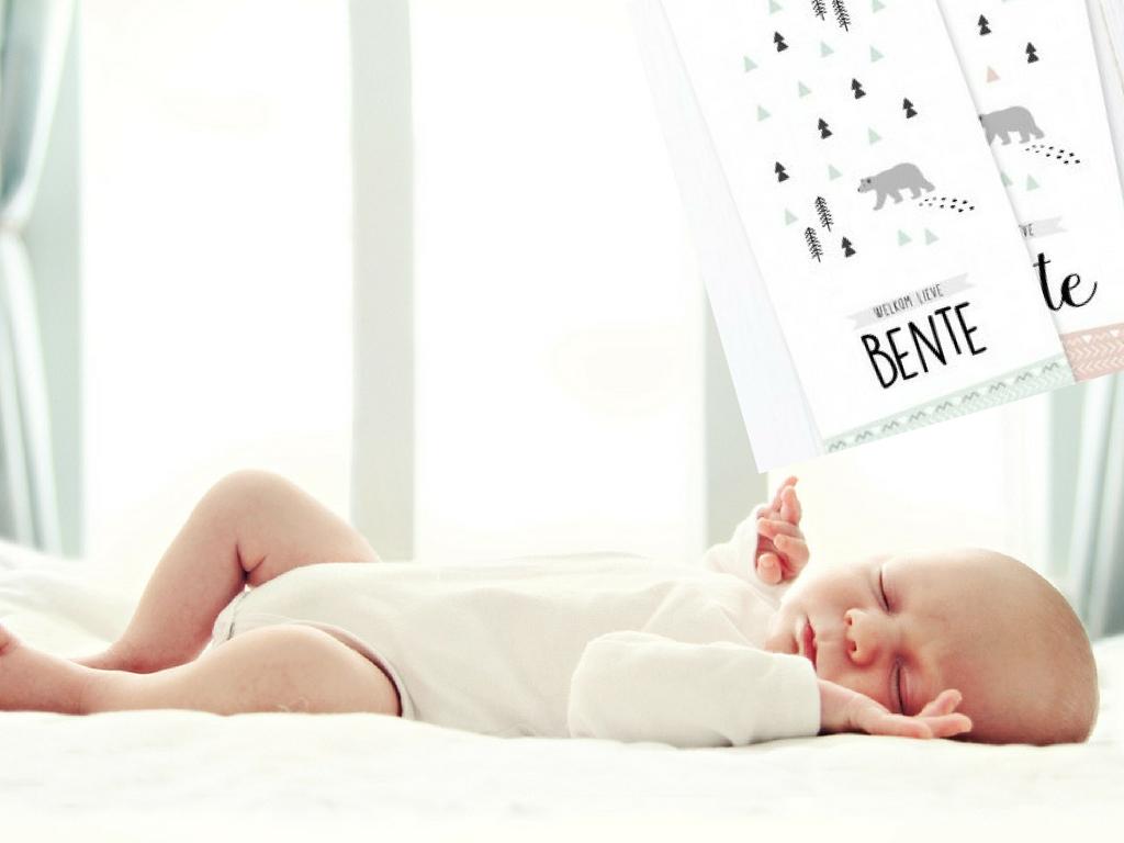 Charlyfine geboortekaartjes