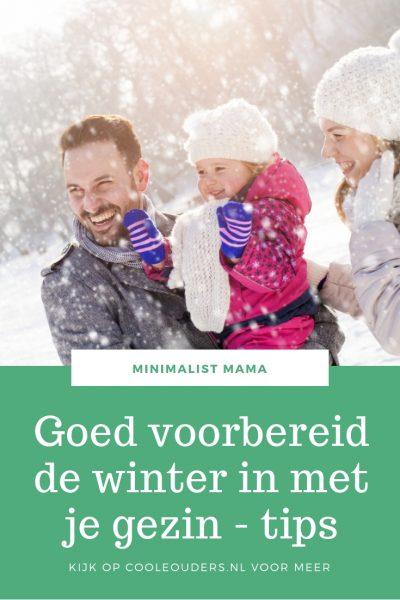 voorbereid de winter in met je gezin
