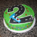 Birthday Cake With Car The Cake Boutique