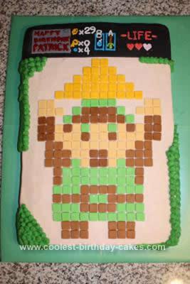 Cool Homemade Legend Of Zelda Birthday Cake