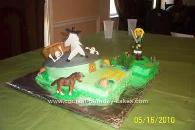 Coolest Legend Of Zelda Birthday Cake Design