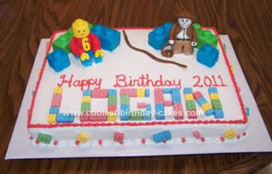 Admirable Homemade Lego Cake Ideas The Cake Boutique Funny Birthday Cards Online Barepcheapnameinfo