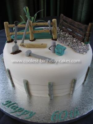 Coolest Mens Birthday Cake