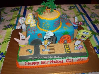Coolest Spongebob Birthday Cake Idea