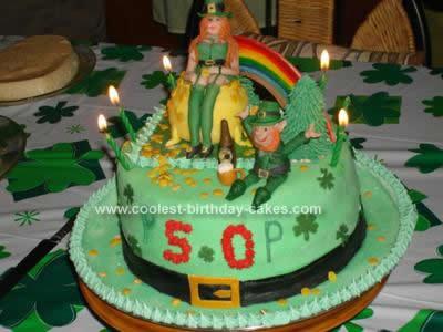 Coolest St Patrick S Day 50th Birthday Cake