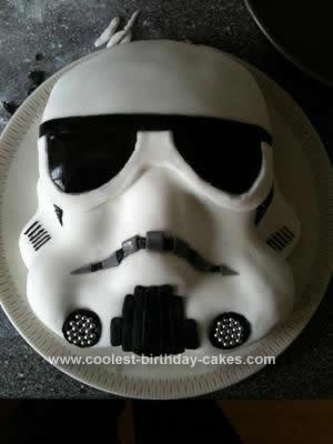 Coolest Storm Trooper Birthday Cake