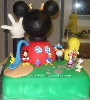 25 Cool Mickey Mouse Clubhouse Cakes