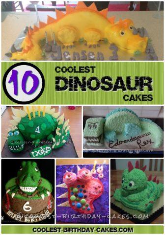 Coolest Dinosaur Cake Ideas And Dinosaur Birthday Cake Inspiration