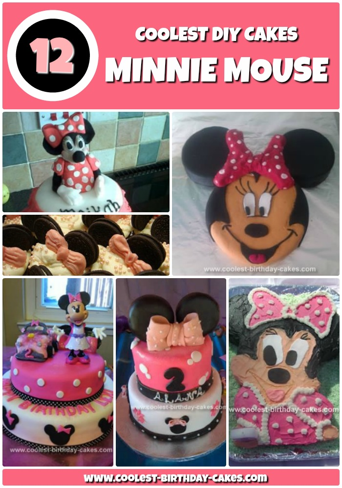 12 Coolest Minnie Mouse Cake Ideas Coolest Birthday Cakes