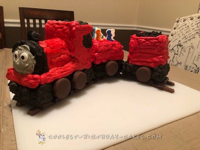230 Coolest Homemade Thomas The Train Theme Cakes