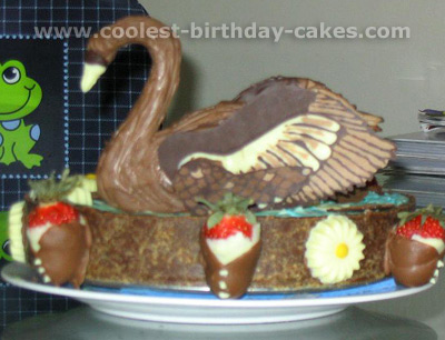 Coolest Swan Cakes And Other Child Cake Ideas