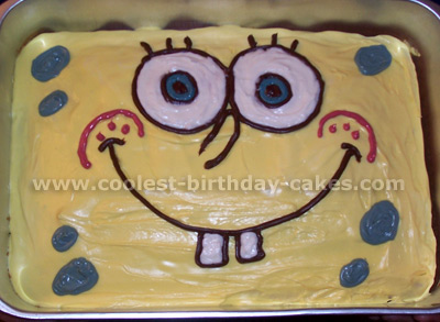 Coolest Sponge Bob Cake Photos And How To Tips