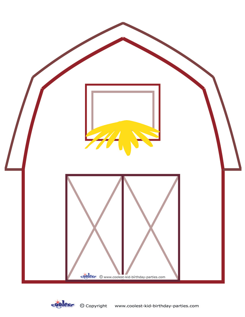 barnyard coloring pages in coloring pages