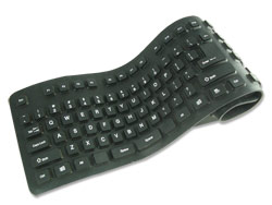 A picture of the flexible keyboard that I bought.