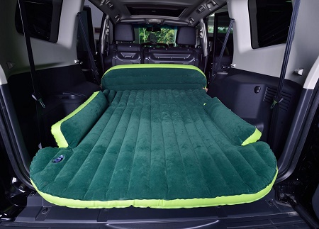 The Suv Travel Air Bed Who Says Sleeping In The Car Can