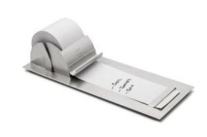 notepaper roller
