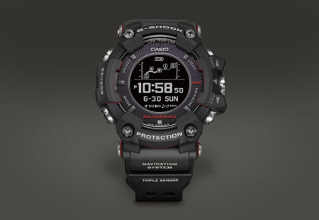 casio rangeman gpr b1000 is another first for the watch. Black Bedroom Furniture Sets. Home Design Ideas