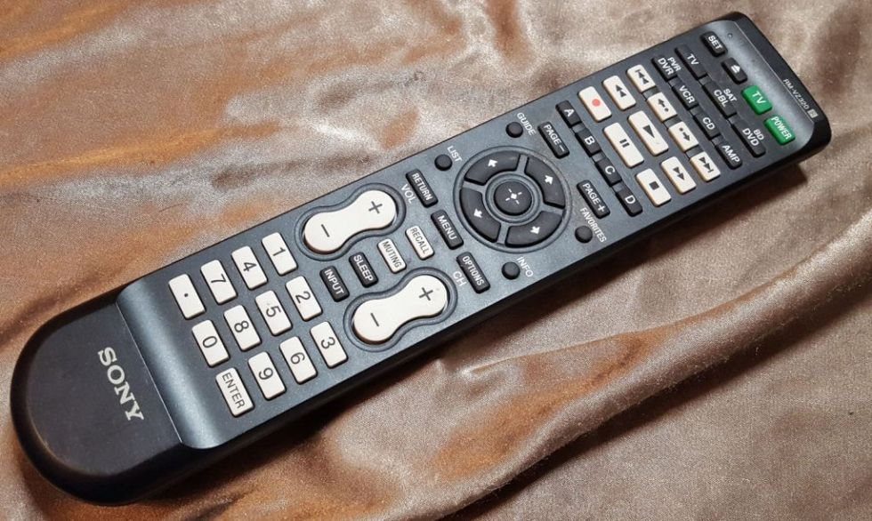 Sony RMVLZ620 Universal Remote buttons