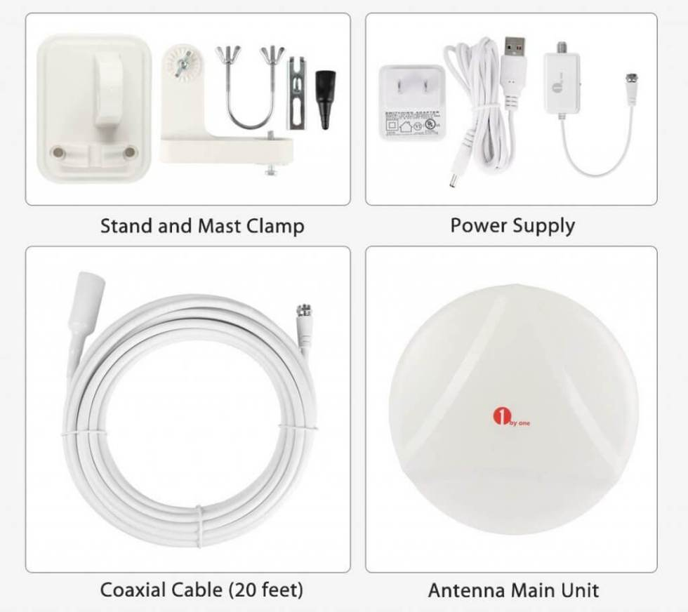1ByOne Outdoor TV Antenna – New Concept accessories