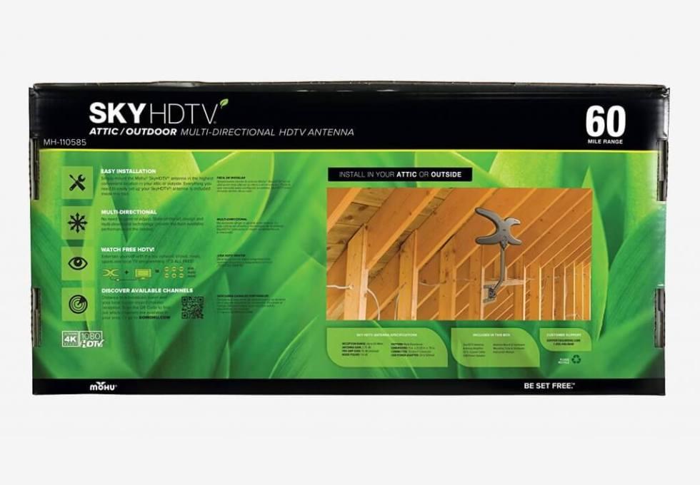 Mohu Sky MH-110585 packaging